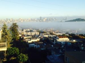 Fog over mission